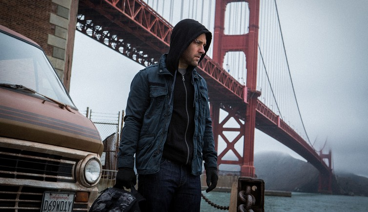 MARVEL'S ANT-MAN - Shot on location in San Francisco, Paul Rudd stars as Scott Lang AKA Ant-Man, .in Marvel Studio's Ant-Man, scheduled for release in the U.S. on July 17th, 2015...Photo Credit: Zade Rosenthal..? Marvel 2014