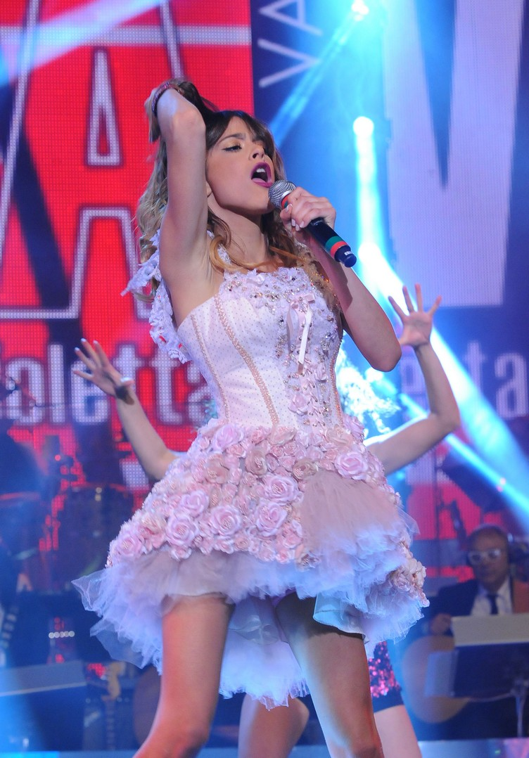 Martina Stoessel Perfoms On Italian TV
