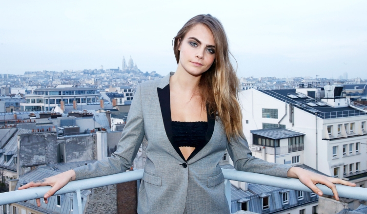 Yves Saint Laurent Beauty With Cara Delevingne Celebrating The Luxurious Mascara For A False Lash Effect