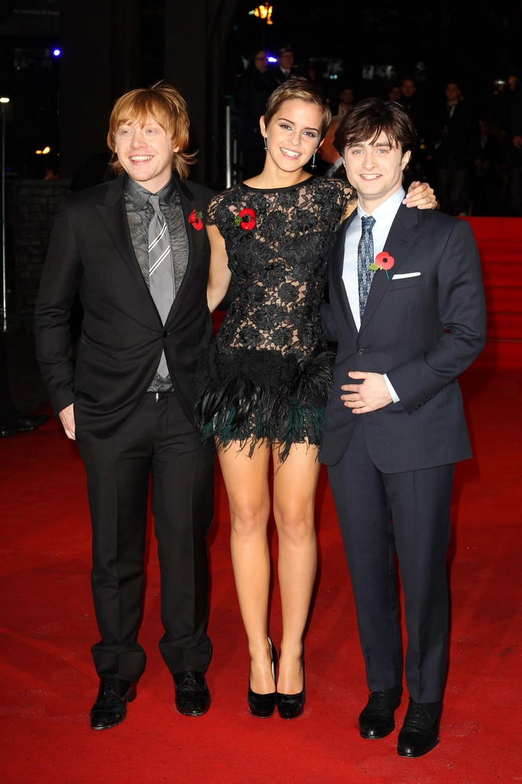 Harry Potter And The Deathly Hallows: Part 1 - World Film Premiere Inside Arrivals