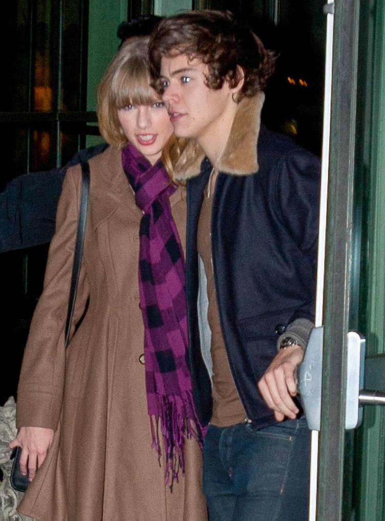 Taylor Swift & Harry Styles Leave A Party Together
