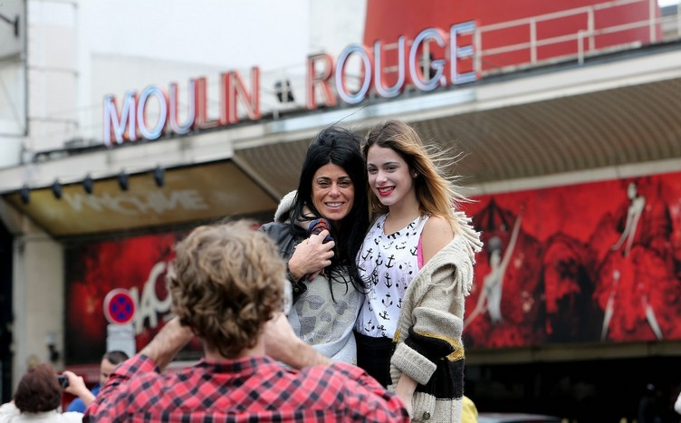 Disney Channel star Martina Stoessel is in Paris