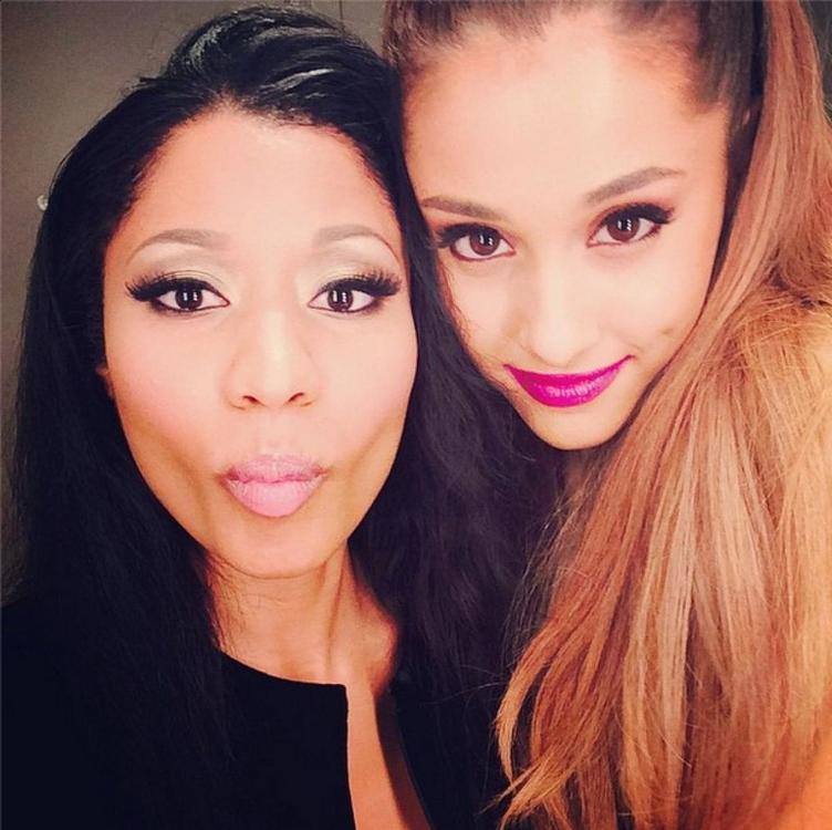 Minaj_And_Grande