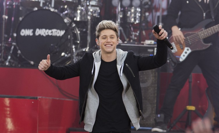 Singer Niall Horan of the band One Direction performs on ABC's Good Morning America inside Central Park in New York