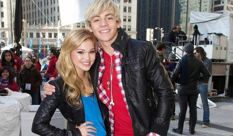 **EXCLUSIVE** Disney Stars Ross Lynch and Olivia Holt seen relaxing backstage together at The Magnificent Mile Light Festival in Chicago